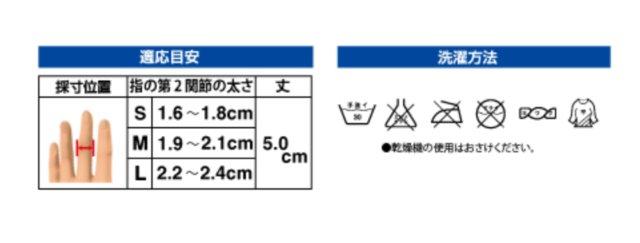 適応目安と洗濯方法