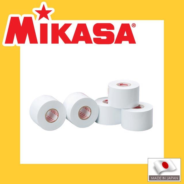 ミカサラインテープ白(伸びるタイプ)5cm幅×5巻入[LTV50-W]